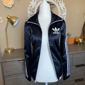Adidas satin looking track jacket